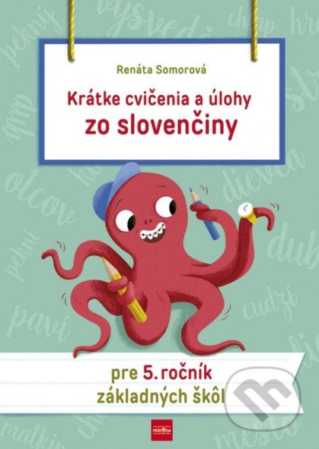 Fatimma.cz Krátke cvičenia a úlohy zo slovenčiny pre 5. ročník základných škôl Image