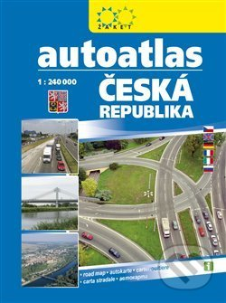 Venirsincontro.it Autoatlas Česká republika 1:240 000 Image