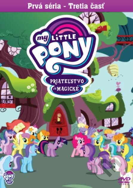 My Little Pony: Priateľstvo je magické DVD