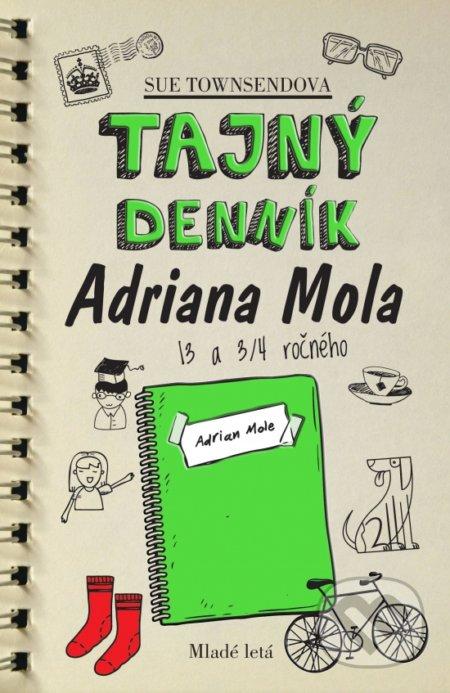 Fatimma.cz Tajný denník Adriana Mola 13 a 3/4 ročného Image