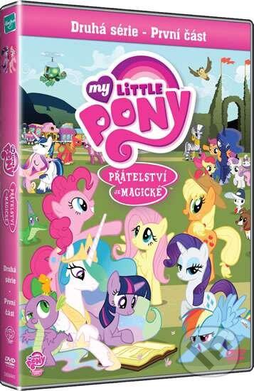 FILM MY LITTLE PONY: PŘÁTELSTVÍ JE MAGICKÉ, 2. SÉRIE:1. ČÁST (1DVD, 9 DVD