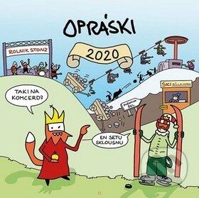 Opráski - nástěnný kalendář 2020 - jazz