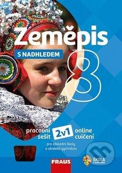 Fatimma.cz Zeměpis 8 s nadhledem Pracovní sešit Image