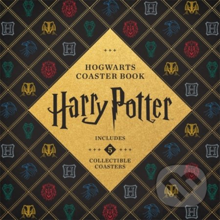 Harry Potter Hogwarts Coaster Book - Danielle Selber