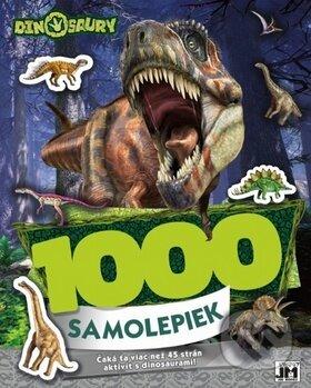 Fatimma.cz 1000 samolepiek Dinosaury Image