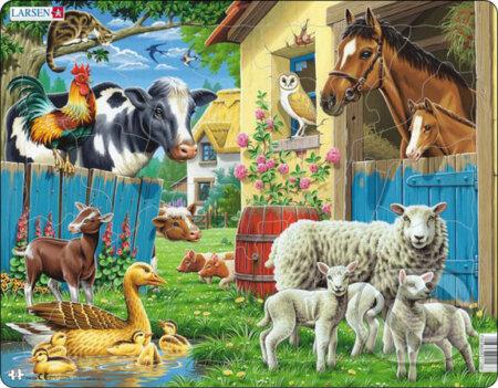 Zvieratá na farme - Larsen