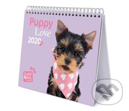 Stolní kalendář 2020: Štěňata