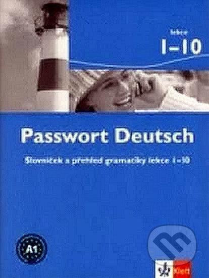 Venirsincontro.it Passwort Deutsch 1 - Slovníček (3-dílný) Image
