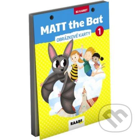 Venirsincontro.it MATT the bat 1 – obrázkové karty pre prvákov Image