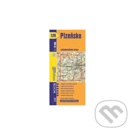 Fatimma.cz 1: 70T(120)-Plzeňsko (cyklomapa) Image