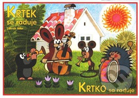 Fatimma.cz Krtek se raduje / Krtko sa raduje (vymaľovánka) Image