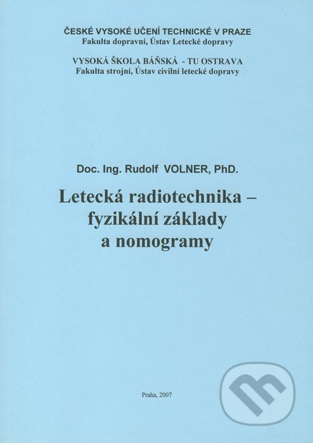 Bthestar.it Letecká radiotechnika - fyzikální základy a nomogramy Image