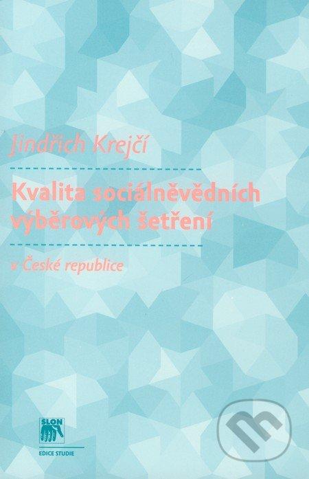 Interdrought2020.com Kvalita sociálněvědních výběrových šetření v České republice Image