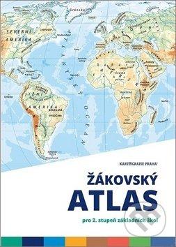 Žákovský atlas - Kartografie Praha