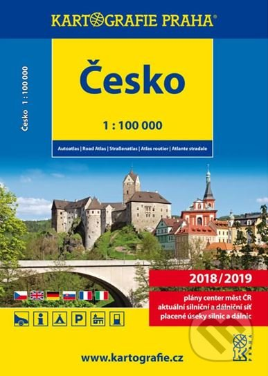 Česko: Autoatlas/1:100 000 - Kartografie Praha