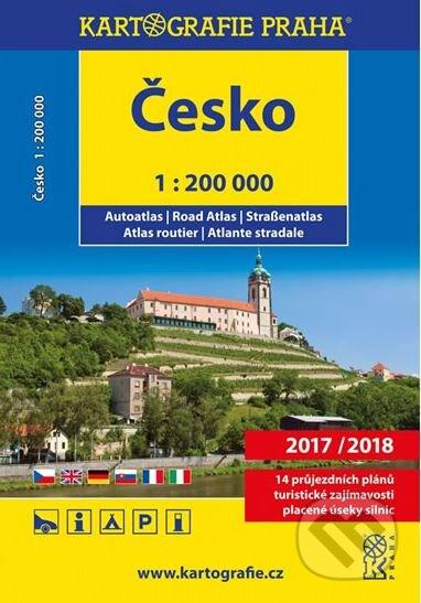 Česko: Autoatlas/1:200 000 - Kartografie Praha