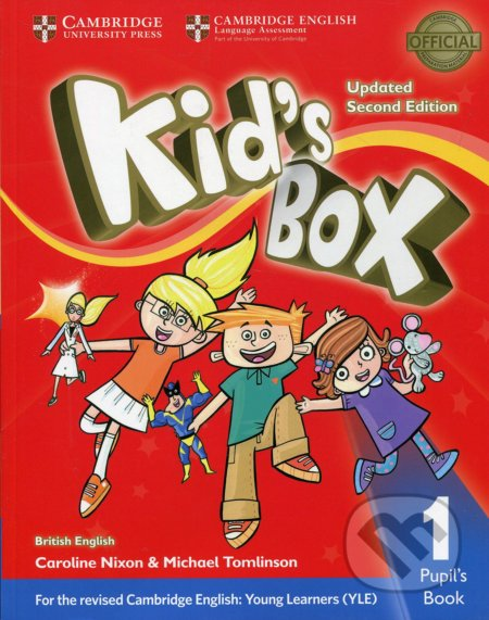 Kid's Box 1 - Pupil's Book - Caroline Nixon, Michael Tomlinson