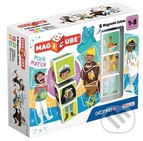 Stavebnice Magicube Mix&Match 6 pcs - Geomag