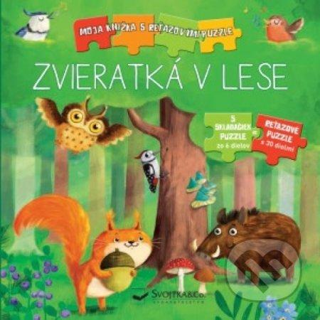 Zvieratká v lese - Kolektív autorov