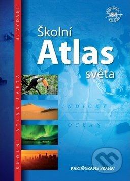 Školní atlas světa - Kartografie Praha