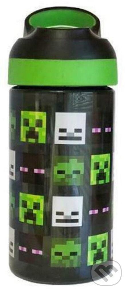 Detská plastová fľaša na pitie Minecraft: Mod Heads