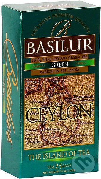 BASILUR Island of Tea Green -