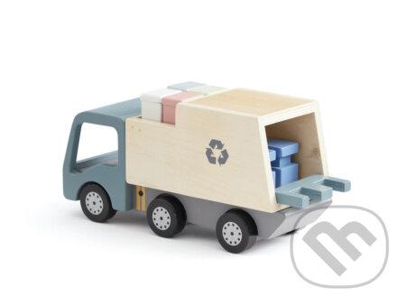 Popelářský vůz Aiden dřevěný - Kids Concept