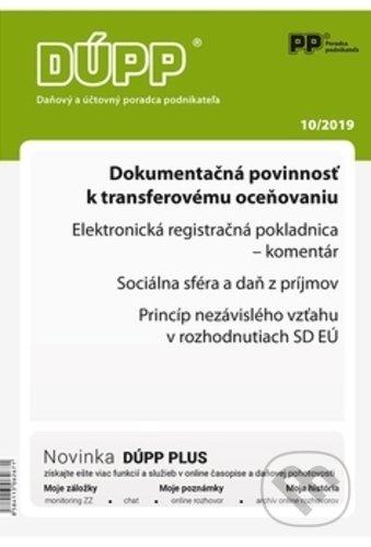 Fatimma.cz Daňový a účtovný poradca podnikateľa 10/2019 Image