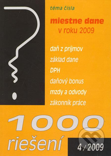 Fatimma.cz 1000 riešení 4/2009 Image