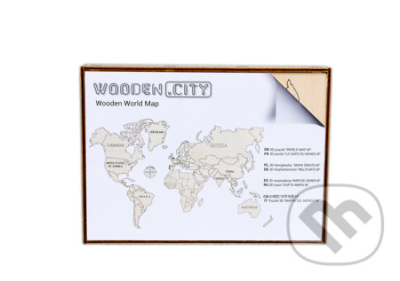 Mapa Sveta M - WOODENCITY