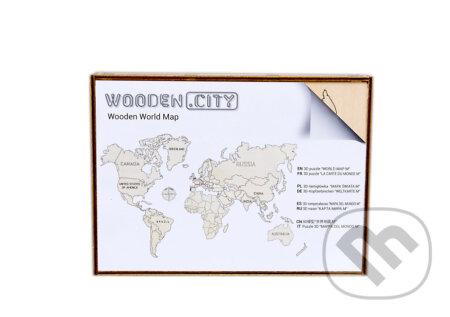 Mapa Sveta L - WOODENCITY