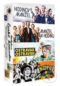 České komedie - kolekce DVD