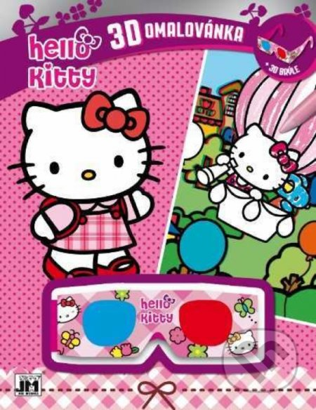 3D vymaľovanky/Hello Kitty - Kitty Hello