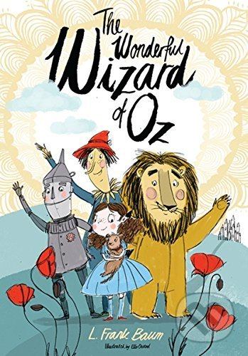 The Wonderful Wizard of Oz - L. Frank Baum, Ella Okstad (ilustrácie)