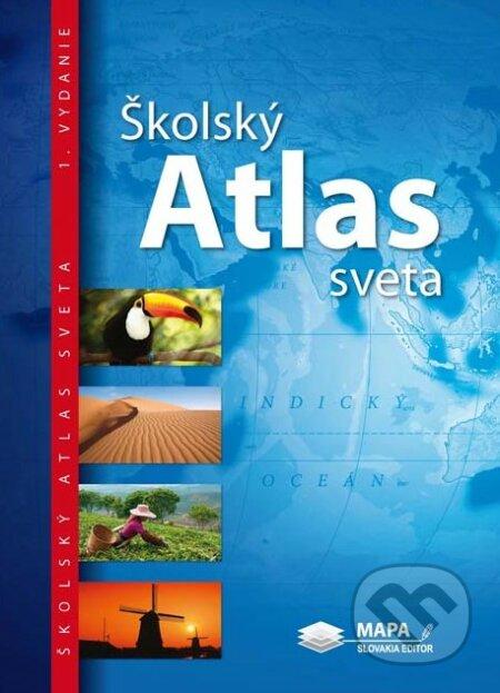 Školský atlas sveta - Mapa Slovakia