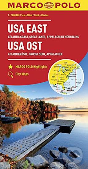 USA východ/mapa 1:2M - Marco Polo