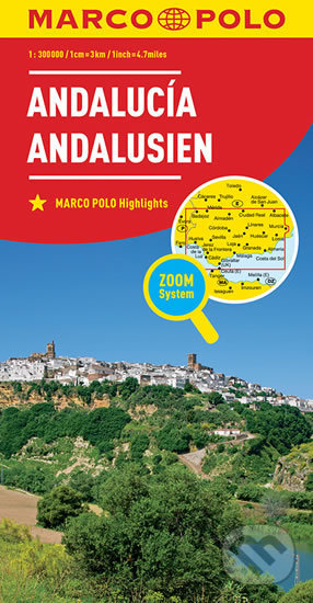 Andalusie/mapa 1:300T MD(ZoomSystem) - Marco Polo
