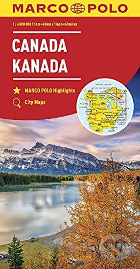 Kanada 1:4M/mapa(ZoomSystem)MD - Marco Polo