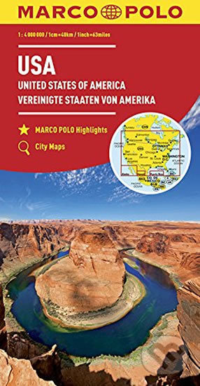 USA 1:4M/mapa(ZoomSystem)MD - Marco Polo
