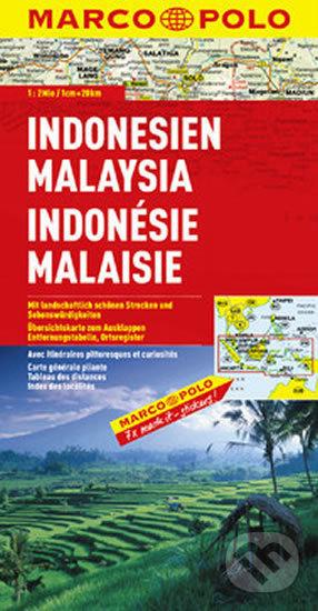 Indonesie, Malajsie/mapa 1:2M - Marco Polo
