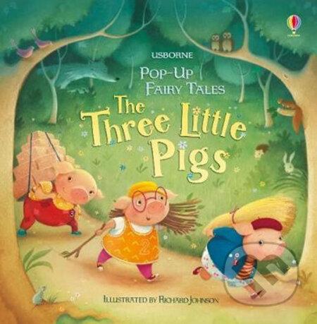 Pop-Up The Three Little Pigs - Susanna Davidson, Richard Johnson (ilustrácie)