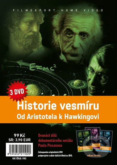 Historie vesmíru: Od Aristotela k Hawkingovi - Filmexport Home Video