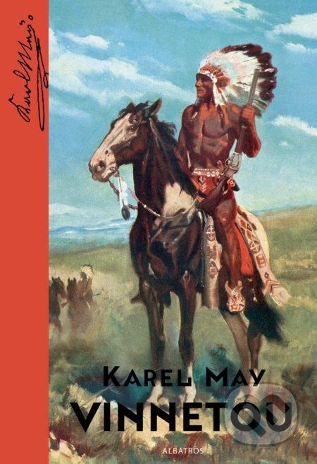 Vinnetou - Karl May, Zdeněk Burian (ilustrátor)