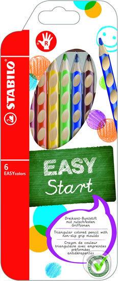 STABILO EASYcolors pravák - sada 6 ks - STABILO