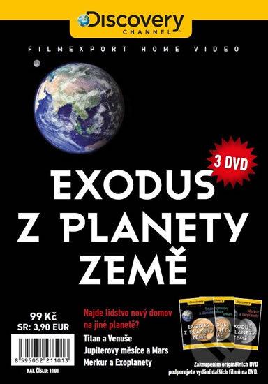 Exodus z planety Země DVD