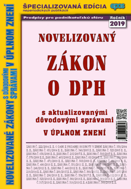 Interdrought2020.com Novelizovaný Zákon o DPH Image