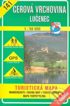 Interdrought2020.com Cerová vrchovina Lučenec 1:50 000 - turistická mapa č. 141 Image