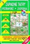 Interdrought2020.com Západné Tatry - Podbanské - Zverovka - turistická mapa č. 3 Image
