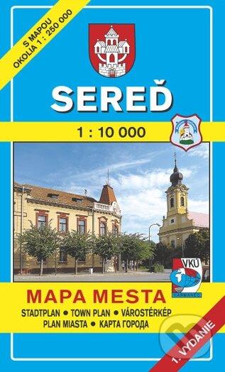 Removu.cz Sereď 1:10 000 Image