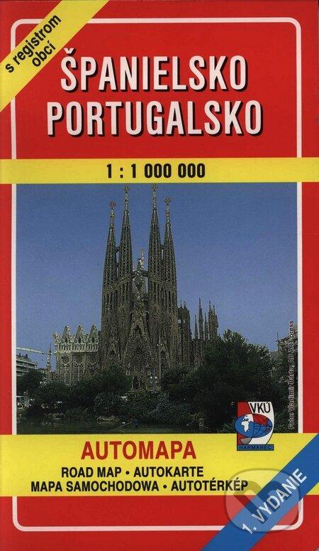 Excelsiorportofino.it Španielsko, Portugalsko 1:1 000 000 Image